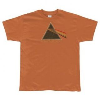 Pink Floyd   Dark Side Orange T Shirt Clothing