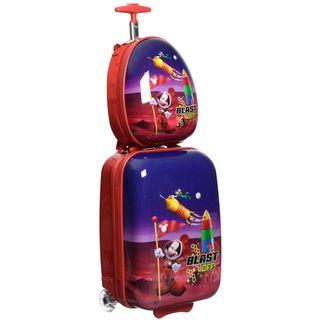 Disney By Heys Mickey Blast Off 2 piece Luggage Set