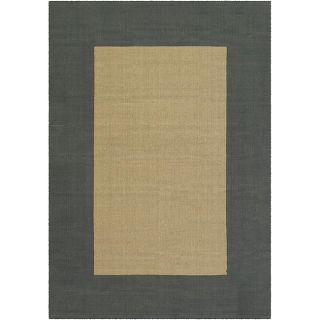 Flat weave Mandara Blue Jute Rug (9 x 13)