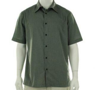 Via Europa Striped Short Sleeve Shirt Black Basic S