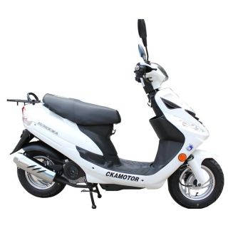 Scooter 50cc GTR C Blanc   Achat / Vente SCOOTER Scooter 50cc GTR C