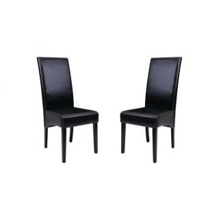 Lot de 2 chaises LISA     Dimensions  L.46 x P.50 x H.109 cm