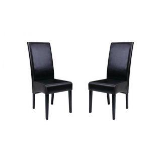 Lot de 2 chaises LISA     Dimensions  L.46 x P.50 x H.109 cm