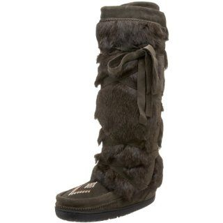 Manitobah Mukluks Womens Tall Wrap Boot Shoes
