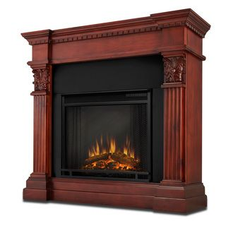 Real Flame Gabrielle Dark Mahogany Electric Fireplace