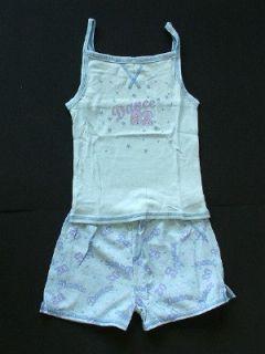 Girls Summer Short Dance Pajamas Clothing