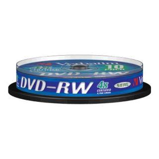 CD   DVD   BLU RAY VIERGE VERBATIM   DataLifePlus   10 x DVD RW   4.7