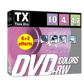 Tx DVDTX47B10+RWC   Achat / Vente CD   DVD   BLU RAY VIERGE Tx