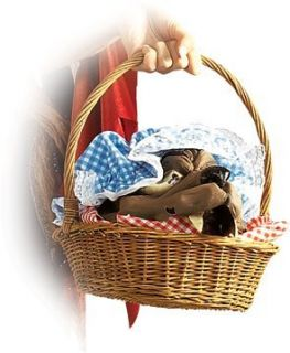 Wolf Head In A Basket Costume Accessory Clothing