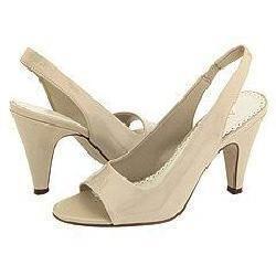 AK Anne Klein Portia Ivory Synthetic Patent Pumps/Heels