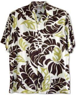 Bold Banana Leaf Mens Hawaiian Aloha Rayon Shirt