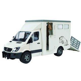 Bruder   Camions Mercedes Benz sprinter avec un animal   Un camion de