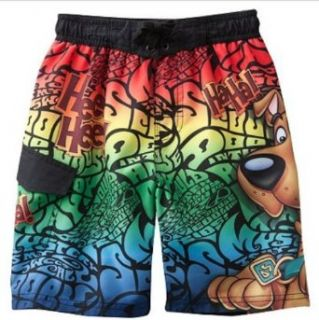Boys Scooby Doo Swim Trunks (5) Clothing