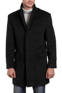 BGSD Mens Cashmere Blend Trend Fit Coat Clothing