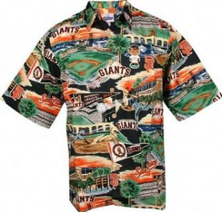 San Francisco Giants Hawaiian Shirt   Medium Clothing