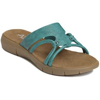 A2 by Aerosoles Womens Wip Current Blue Sandals