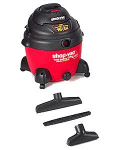Shop Vac 6 HP  16 gallon Wet/Dry Vacuum with Extra Pump Feature