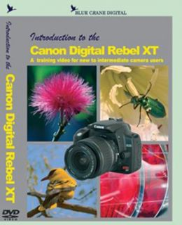 Canon Digital Rebel XT/ 350D Camera Training DVD