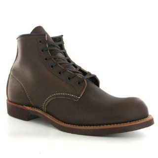 Red Wing 6 Inch Round 09161 Brown Leather Mens Boots Shoes