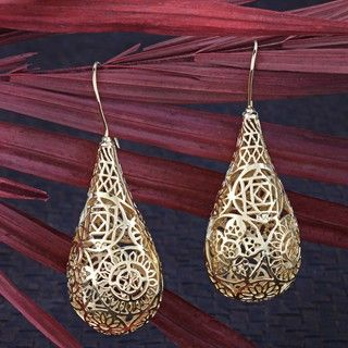 Gold Plated Glorious Earrings (India)