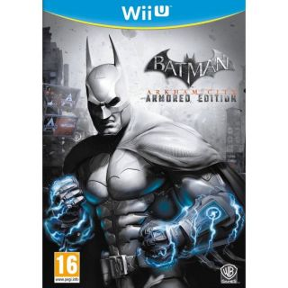 BATMAN ARKHAM CITY ARMORED EDITION / Wii U   Achat / Vente WII U