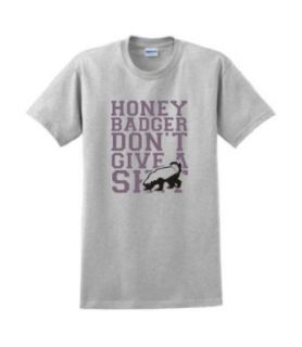 Funny Honey Badger Dont Give a Sht T shirt Humorous Tee