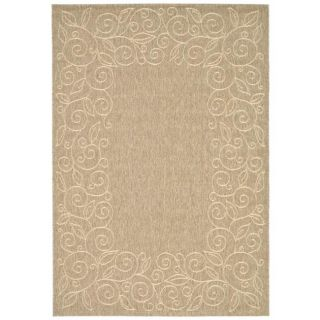 Indoor/ Outdoor Dark Beige/Beige Rug (710 x 11)