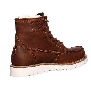 Calvin Klein Jeans Mens Roy Leather Boots