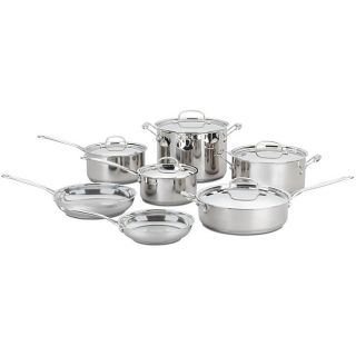 Cuisinart 12 piece Nonstick Stainless Steel Cookware Set