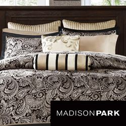 Madison Park Wellington 12 piece Bed in a Bag with Sheet Set Today: $