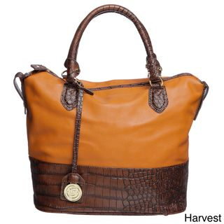 London Fog Norton Bucket Satchel Handbag