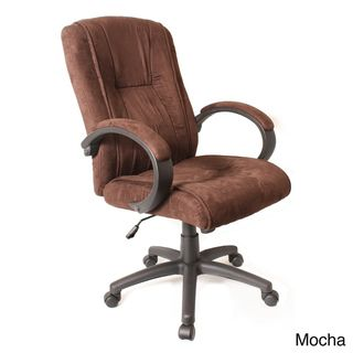 comfort products padded microsuede office chair comfort products