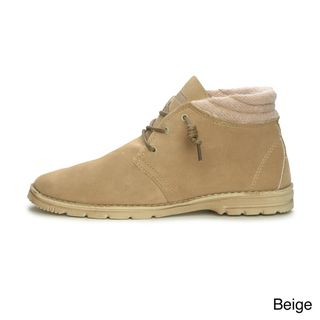 Hey Dude Mens Pasione Chukka Suede Winter Boots