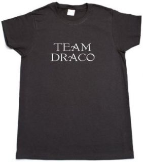 Team Draco Adult Womans Black T shirt Clothing