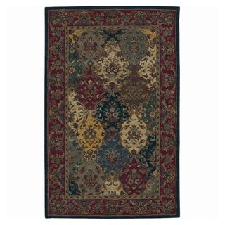 Multi colored Wool Rug Hand tufted (8 x 106)