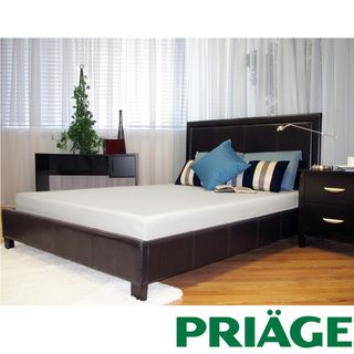 Priage Green Tea/ Charcoal 6 inch Twin size Memory Foam Mattress