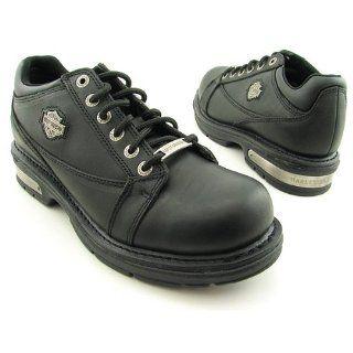 HARLEY DAVIDSON Clive Oxfords Casual Shoes Black Mens Shoes