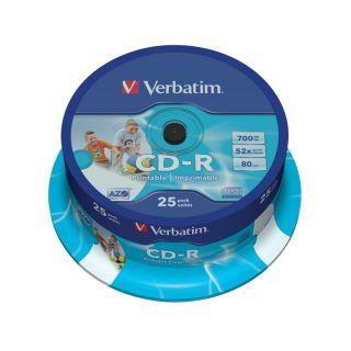 Verbatim CD R 52x   Achat / Vente CD   DVD   BLU RAY VIERGE Verbatim