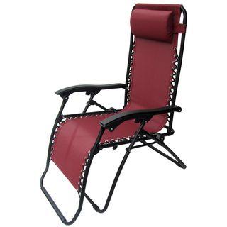 Caravan Canopy Burgundy Zero Gravity Chair
