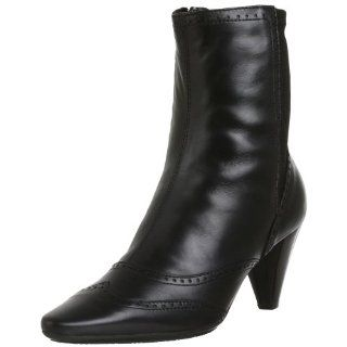 Aquatalia by Marvin K. Womens Que Bootie,Black,7.5 M Shoes