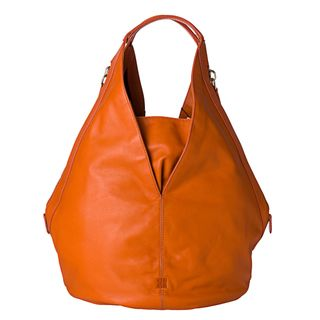 Givenchy Tinhan Medium Orange Leather Hobo Bag