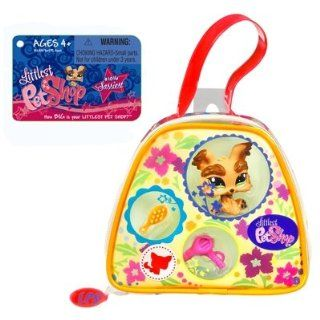 Littlest Pet Shop Purse Carry Case Yorkie Sports