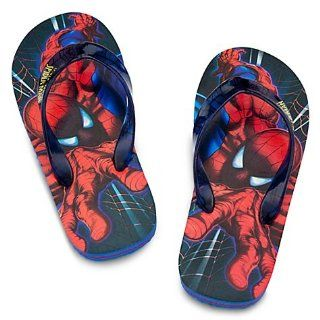 Disney Spider Man Flip Flops   Size 7/8 Shoes