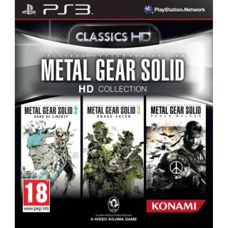 METAL GEAR SOLID HD COLLECTION / Jeu PS3   Achat / Vente PLAYSTATION 3