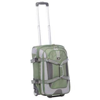 High Sierra Cactus 22 inch Wheeled Carry On Upright Duffel Bag
