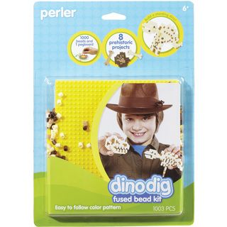 Perler Fun Fusion Fuse Bead Activity Kit Dinosaur Bones