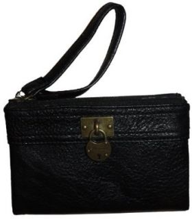 Womens Steve Madden Wristlet Black Clothing