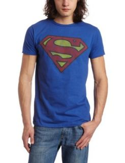 Bioworld Mens Superman Logo Tee: Clothing