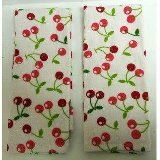 Cherry Gourmet Kitchen Towel (Set of 2)