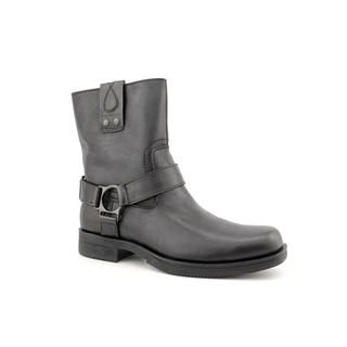 Calvin Klein Jeans Mens Lian Leather Boots